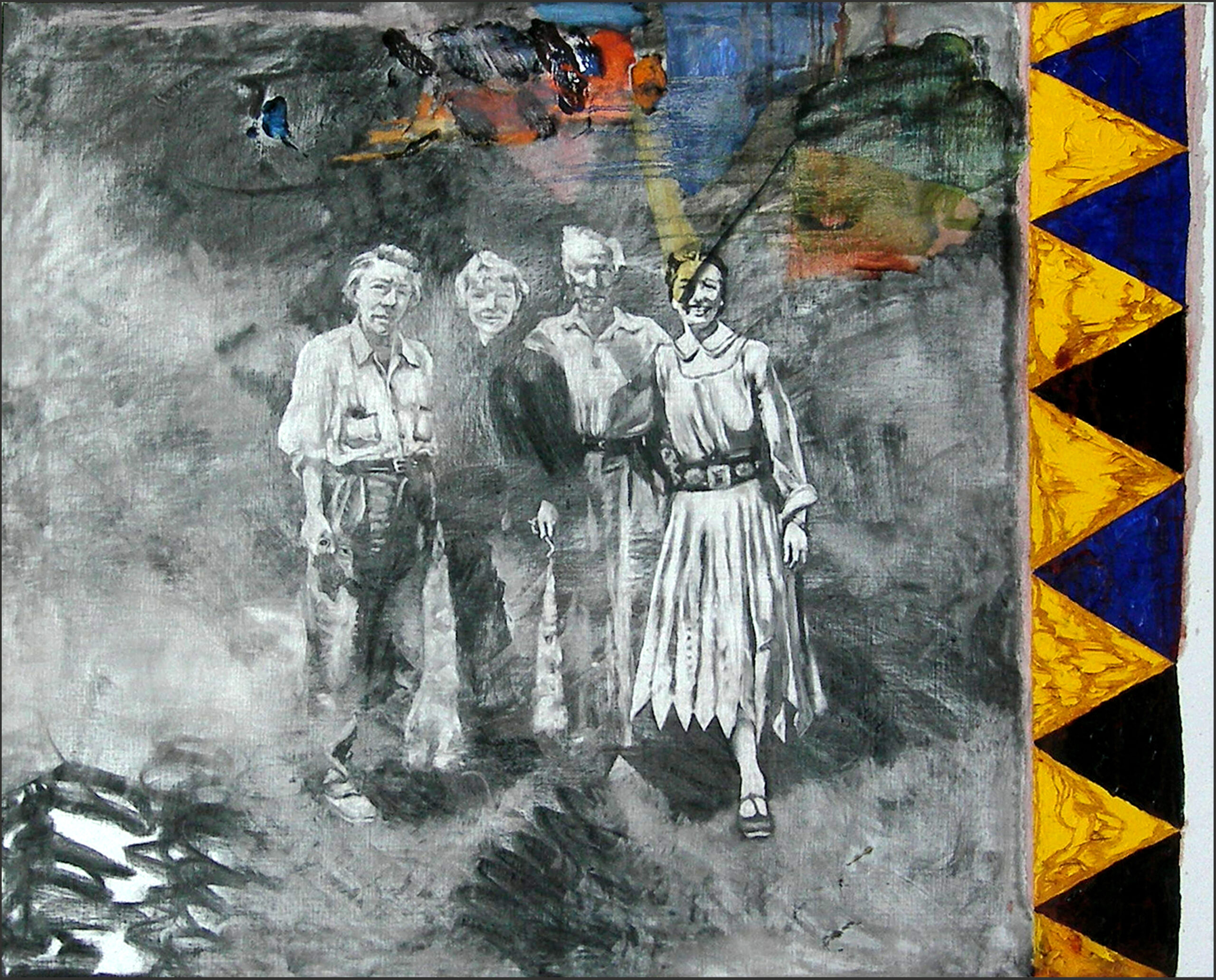 Kerro Holmberg – måleri, grafik